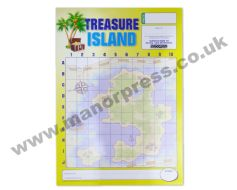 TREASURE ISLAND CARDS - 1 PACKET